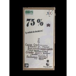 Chocolat cru - 75%